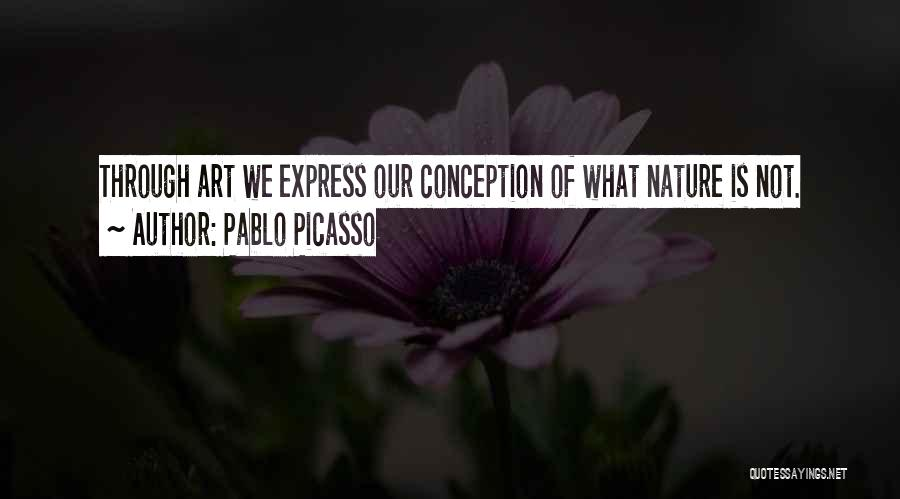 Art Express Quotes By Pablo Picasso