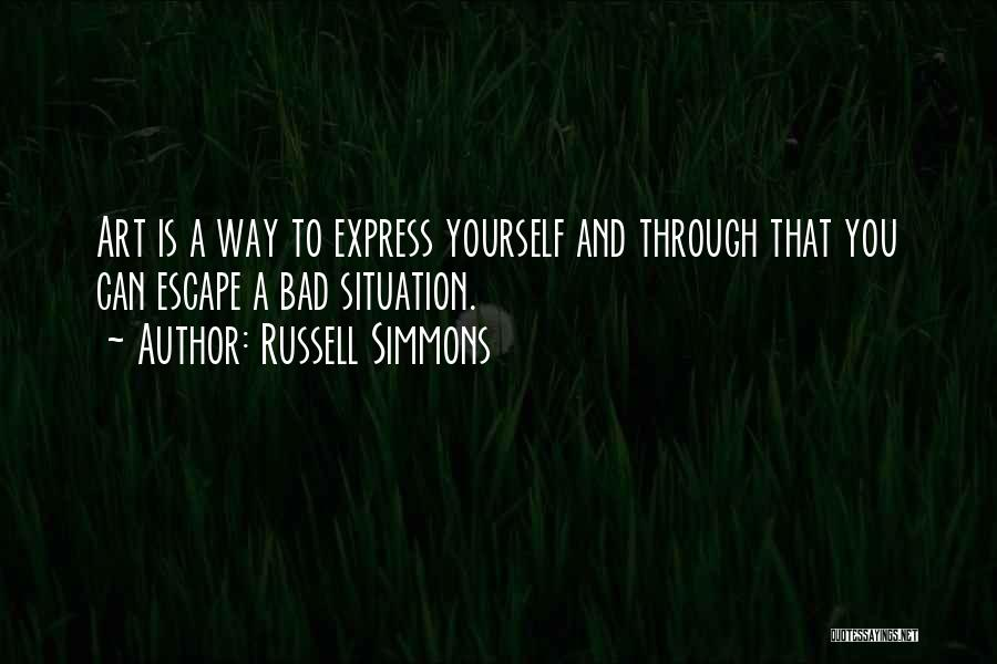 Art Express Quotes By Russell Simmons