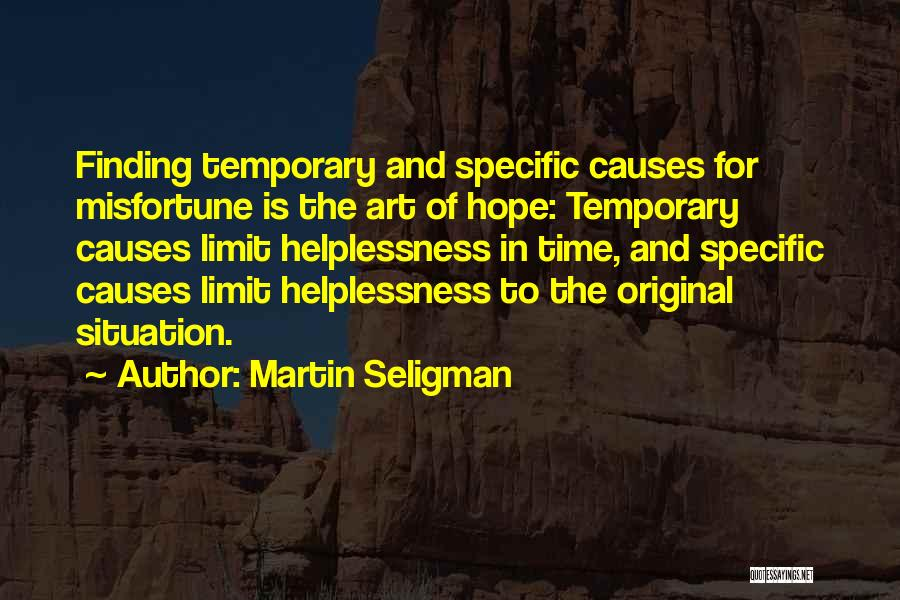 Art Has No Limits Quotes By Martin Seligman