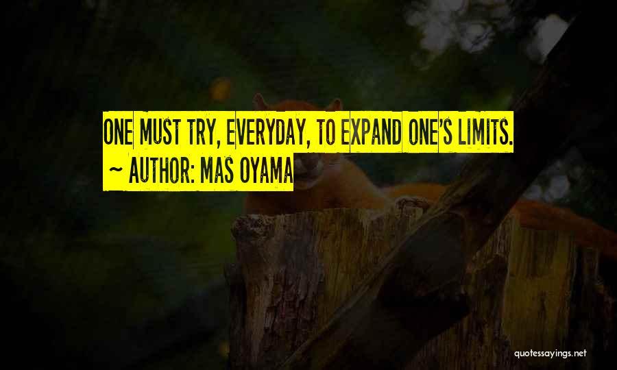 Art Has No Limits Quotes By Mas Oyama