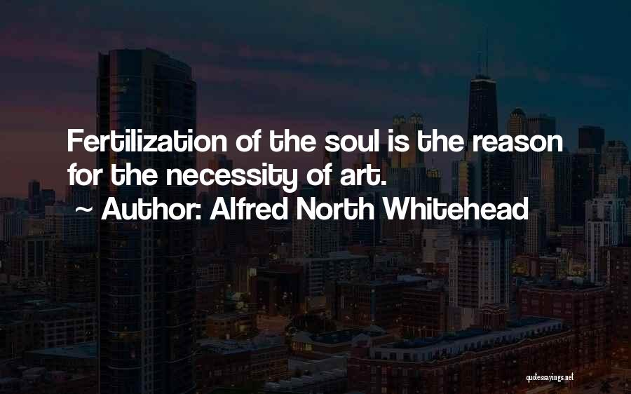 Art Necessity Quotes By Alfred North Whitehead