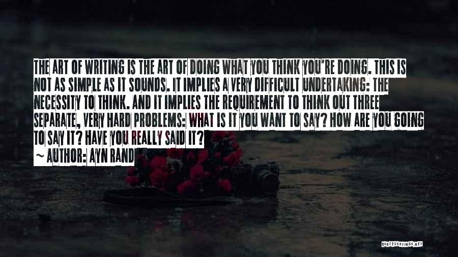 Art Necessity Quotes By Ayn Rand