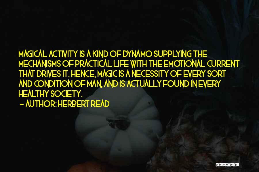 Art Necessity Quotes By Herbert Read