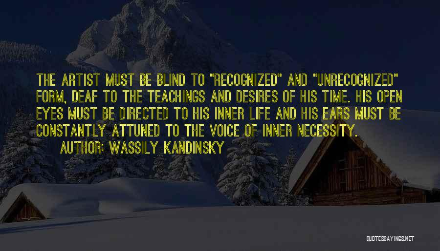 Art Necessity Quotes By Wassily Kandinsky
