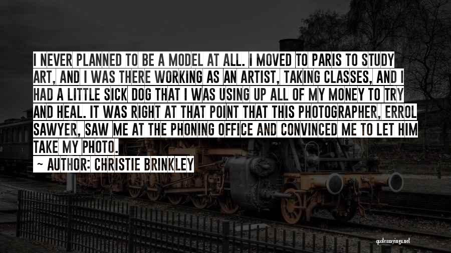 Art Paris Quotes By Christie Brinkley