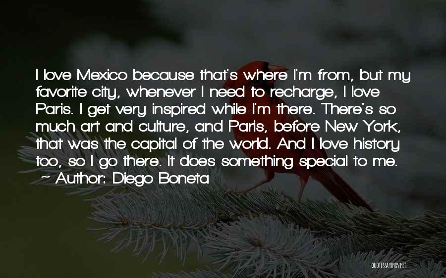 Art Paris Quotes By Diego Boneta