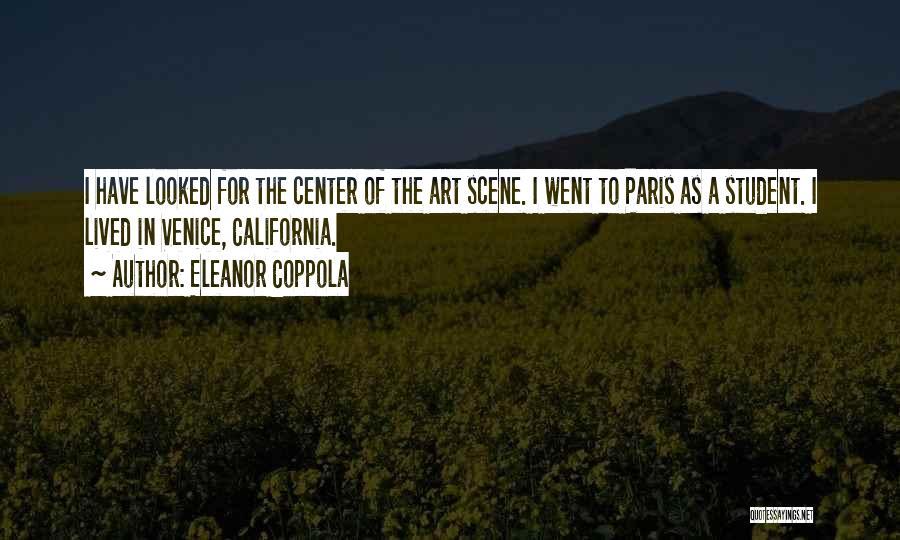 Art Paris Quotes By Eleanor Coppola