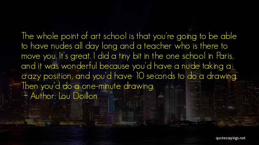 Art Paris Quotes By Lou Doillon