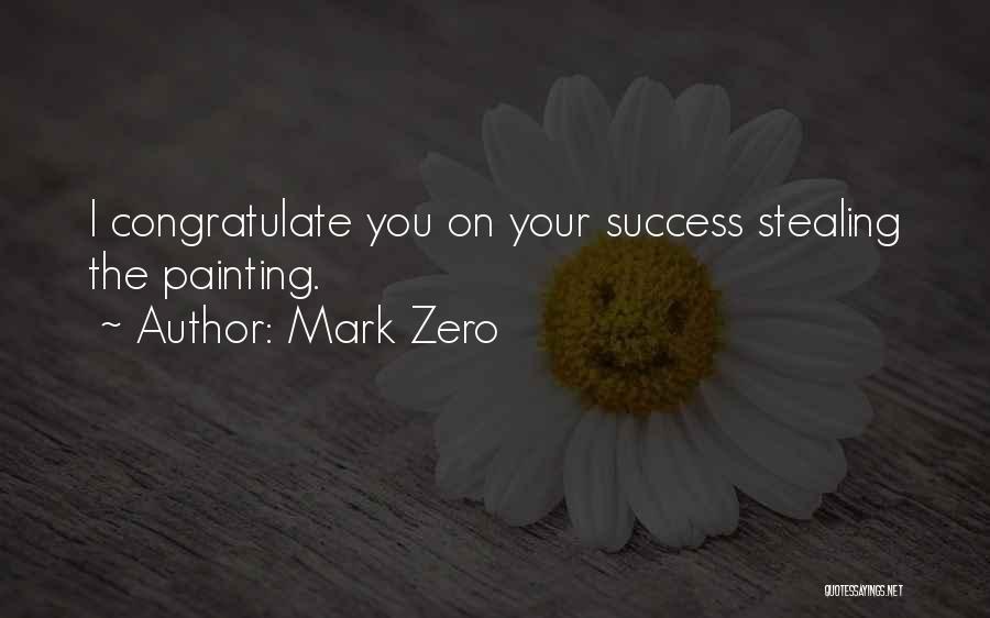 Art Paris Quotes By Mark Zero
