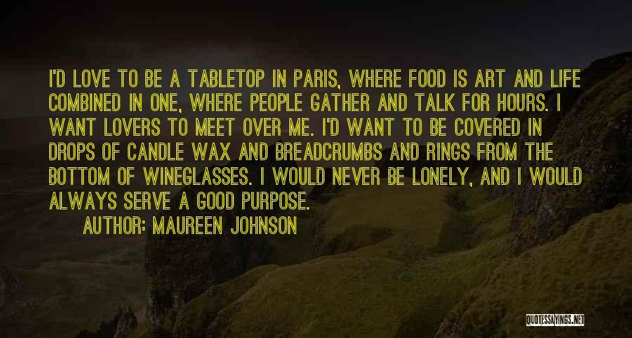 Art Paris Quotes By Maureen Johnson