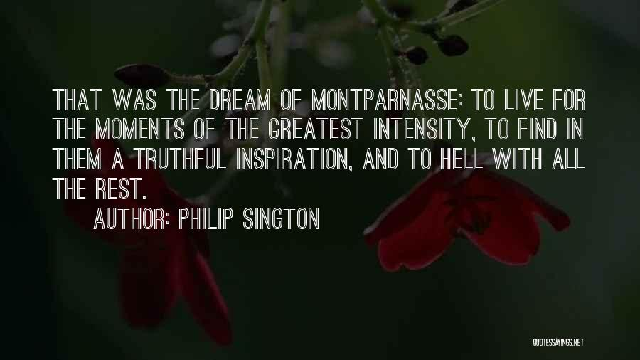 Art Paris Quotes By Philip Sington