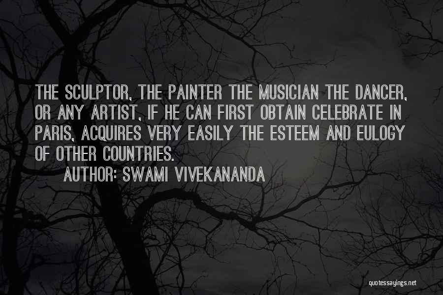 Art Paris Quotes By Swami Vivekananda