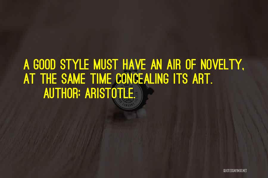 Art Style Quotes By Aristotle.