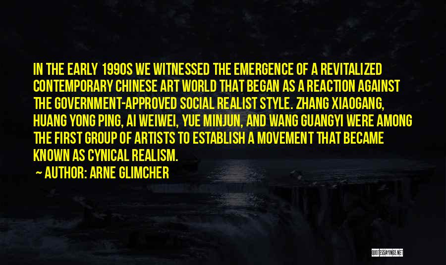 Art Style Quotes By Arne Glimcher