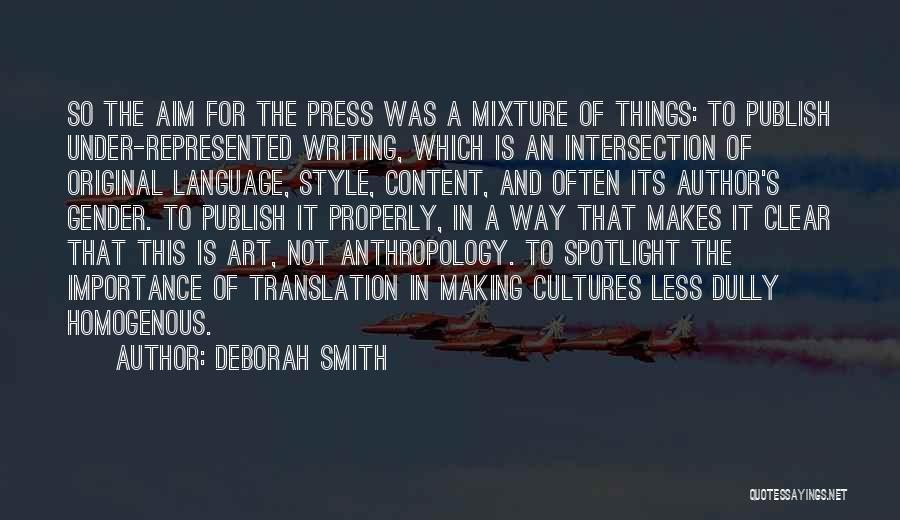 Art Style Quotes By Deborah Smith