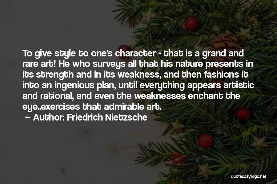 Art Style Quotes By Friedrich Nietzsche
