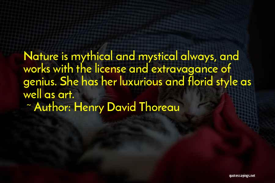 Art Style Quotes By Henry David Thoreau