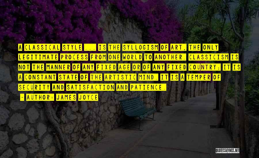 Art Style Quotes By James Joyce