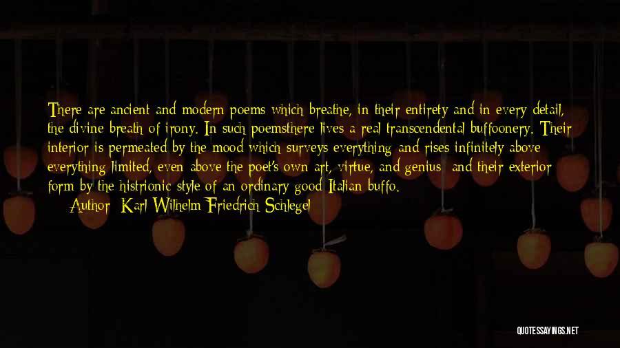 Art Style Quotes By Karl Wilhelm Friedrich Schlegel