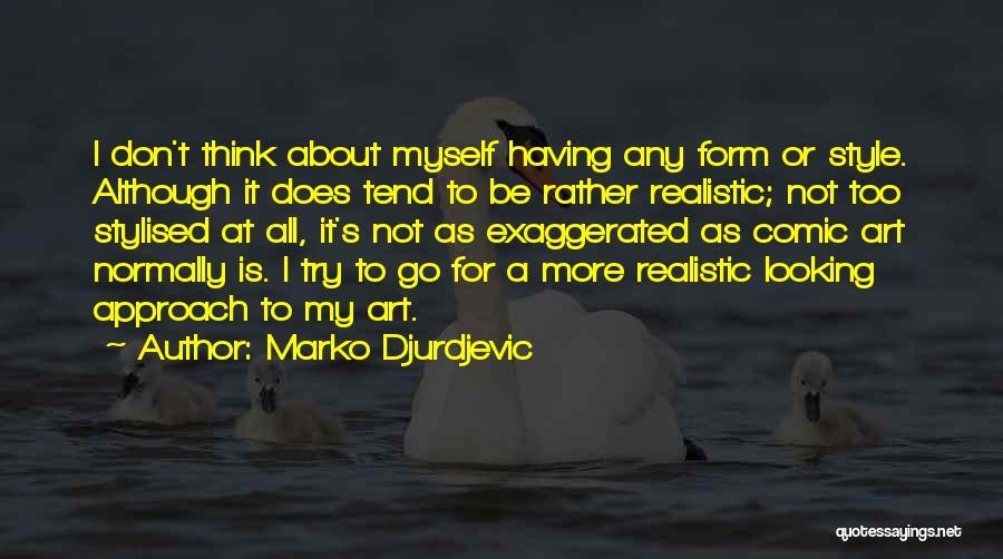 Art Style Quotes By Marko Djurdjevic