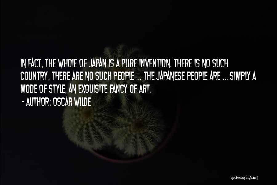 Art Style Quotes By Oscar Wilde