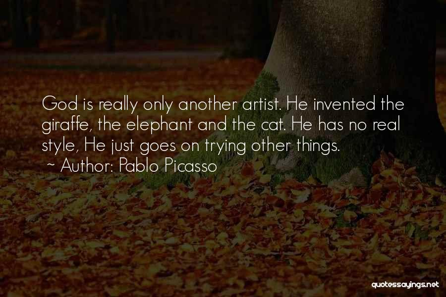 Art Style Quotes By Pablo Picasso