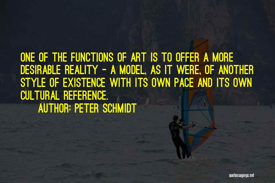 Art Style Quotes By Peter Schmidt