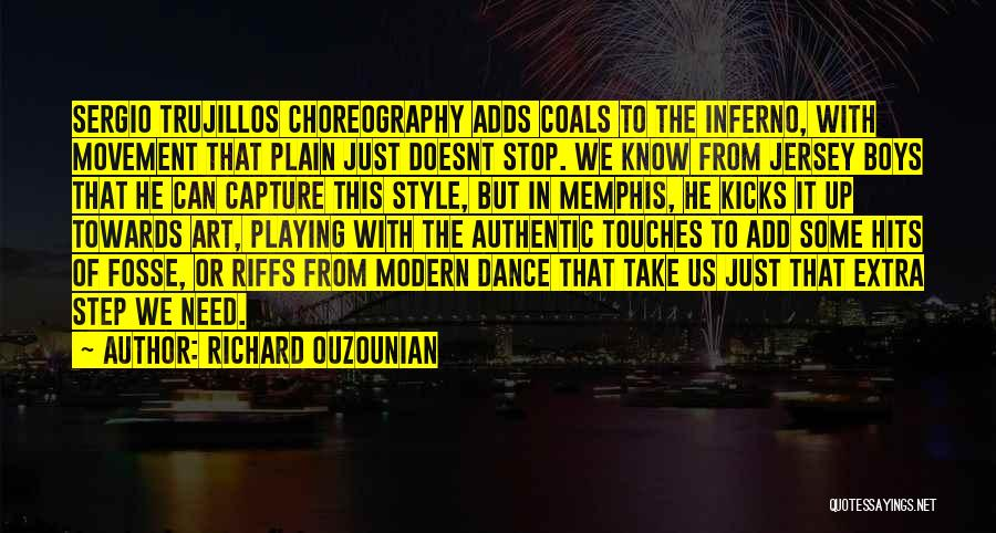 Art Style Quotes By Richard Ouzounian