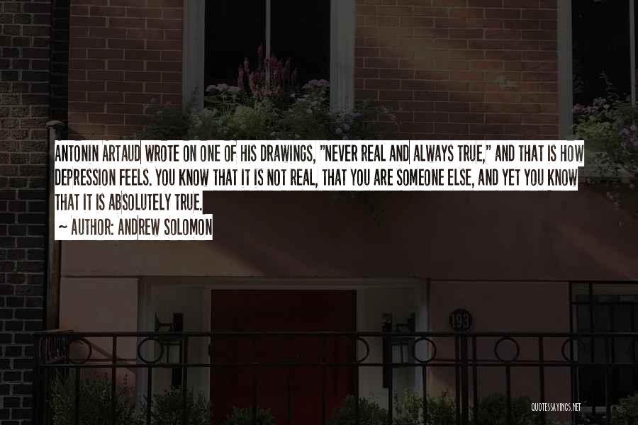 Artaud Quotes By Andrew Solomon