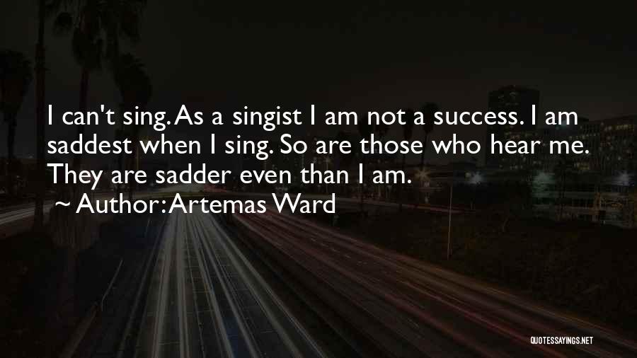Artemas Ward Quotes 953241