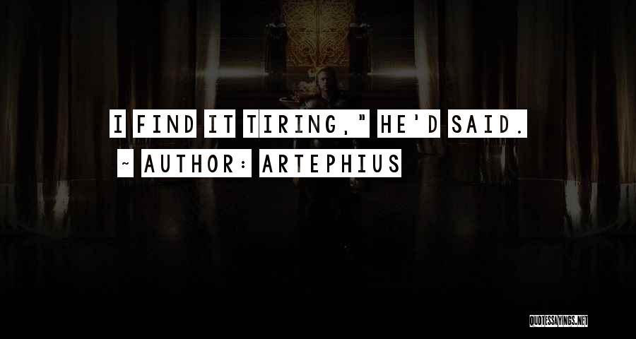 Artephius Quotes 1894973