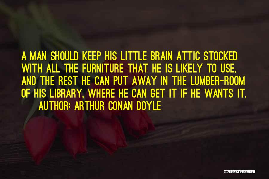 Arthur Conan Doyle Quotes 1126035