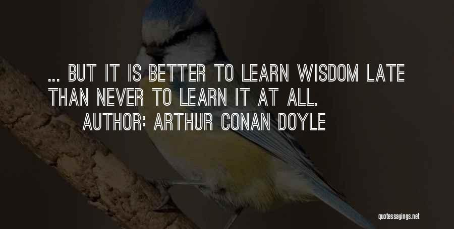 Arthur Conan Doyle Quotes 1795930
