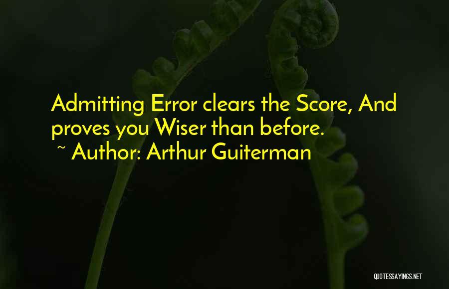 Arthur Guiterman Quotes 95474