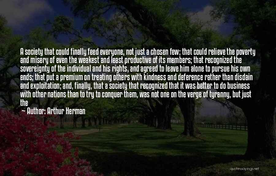 Arthur Herman Quotes 1427216