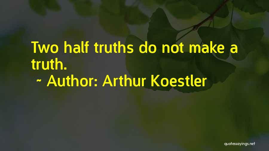 Arthur Koestler Quotes 1153613
