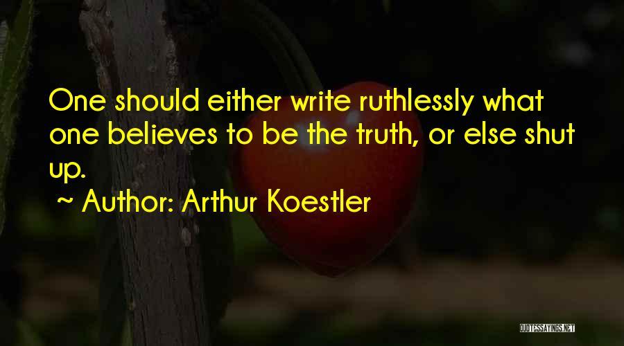 Arthur Koestler Quotes 371781