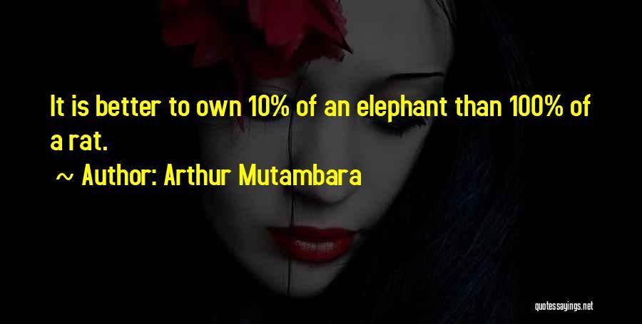 Arthur Mutambara Quotes 1184456