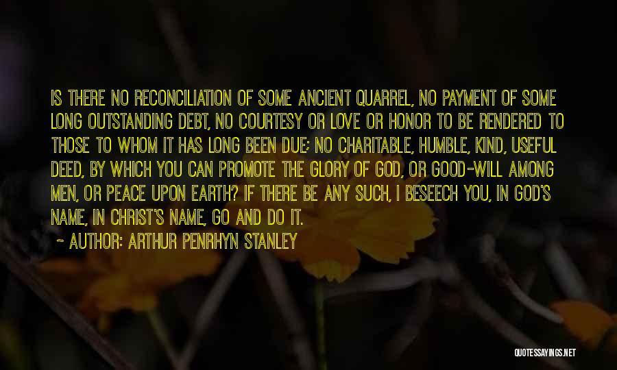 Arthur Penrhyn Stanley Quotes 1014177