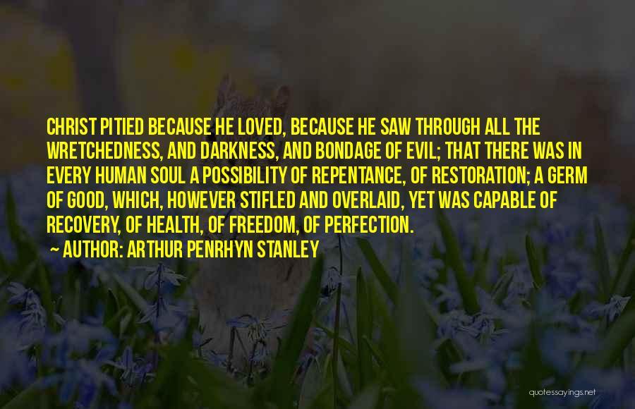 Arthur Penrhyn Stanley Quotes 1064437