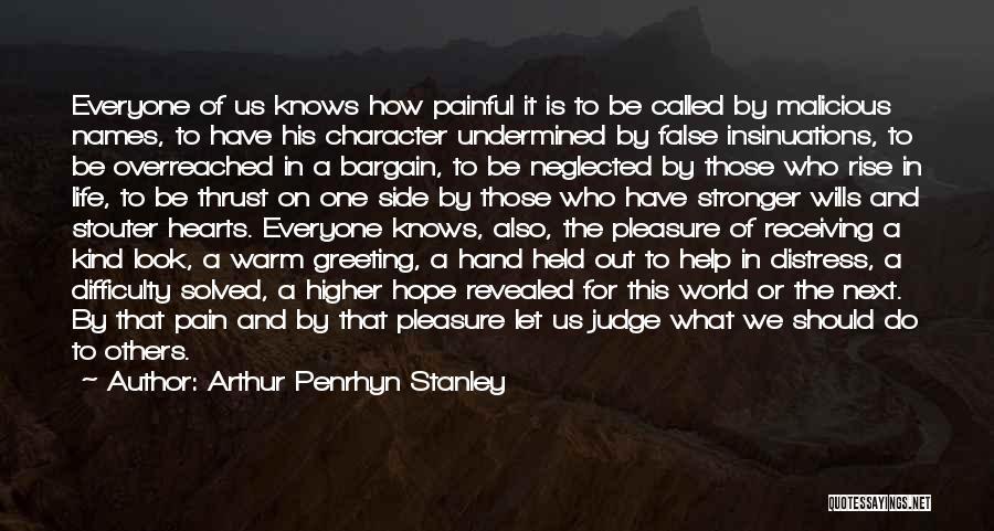 Arthur Penrhyn Stanley Quotes 1214092