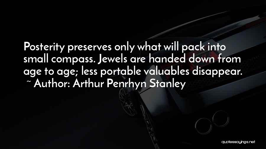 Arthur Penrhyn Stanley Quotes 1254168