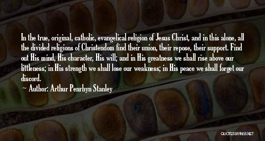 Arthur Penrhyn Stanley Quotes 326640