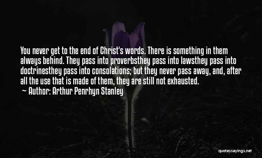 Arthur Penrhyn Stanley Quotes 817584
