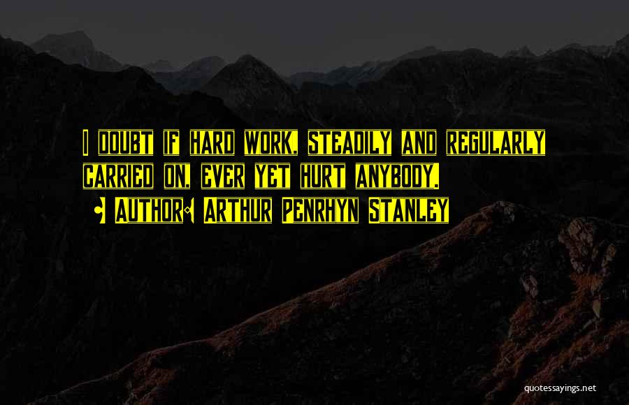 Arthur Penrhyn Stanley Quotes 82185