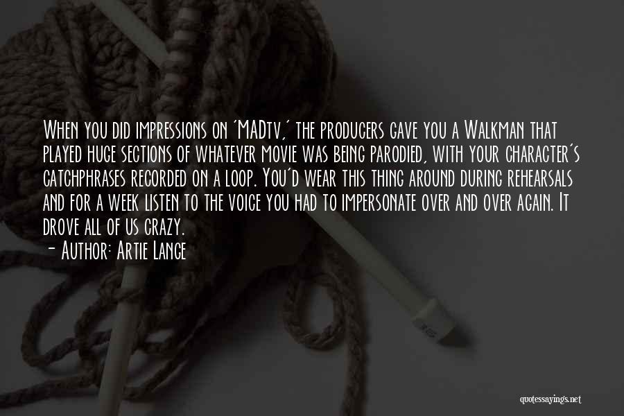 Artie Lange Quotes 525086