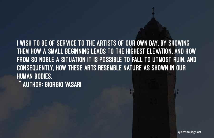 Artists And Nature Quotes By Giorgio Vasari