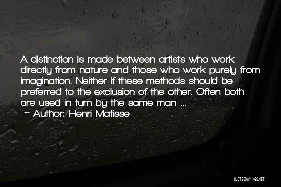 Artists And Nature Quotes By Henri Matisse