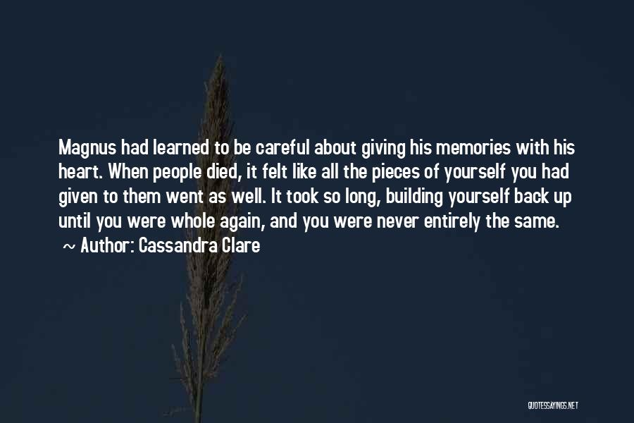 As Long Quotes By Cassandra Clare