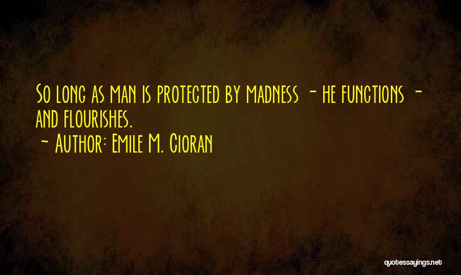 As Long Quotes By Emile M. Cioran